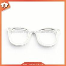 Promotional glasses keychain, metal keychain, funny keychain
