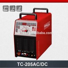 Multi-function AC/DC Pulse TIG/MMA/CUT ac-dc tig welding machine TC-205AC/DC