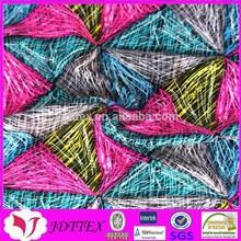 china special nylon spandex colorful diamond warp knitting swimwear digital printing fabric in textiles