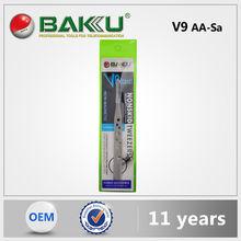 Baku Newest Hot Selling Diagonal Cutting Curve Tip Tweezer For Phone