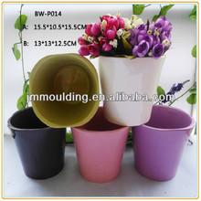 orquídea vaso de flores