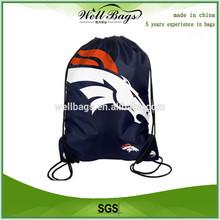 Fashion Design Custom Nylon Drawstring Bag,drawstring laundry bag, nylon bag