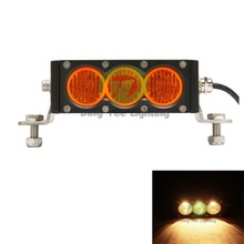 5.9inch white/amber lens driving spot light 30w 9-60V led work light bar