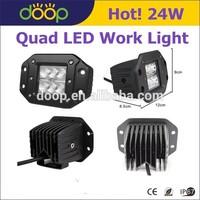 Aluminum LED Work Light montaje empotrado ATV Quad LED Work Light
