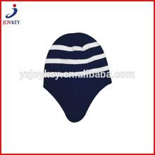 wholesale free pattern knitted hat earflap