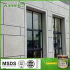 Granite effect water-basic exterior building paint spray