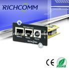 Low Frequency UPS Monitoring / Three Phase UPS Monitor / Low Frequency High Frequency UPS SNMP Card : Netmate II mini(Internal)