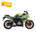 De calidad superior 200CC que compite con la motocicleta con invertido de choque y frontal de doble disco de freno de disco