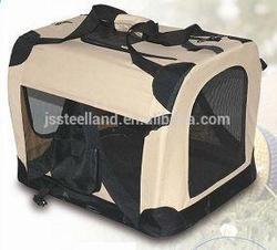 hot sell elegant design foldable soft pet carrier
