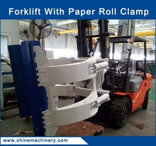 china diesel 3 ton forklift paper roll clamp