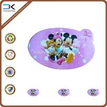 Cartoon design printing table mat for kids, pp plastic sheet
