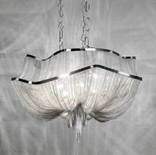 Decorative Hanging Pendant Light Modern Chain Chandelier Light