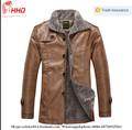Winter jacke warm- Verkauf pu männer leder Kleidung mit hoher qualität für männer