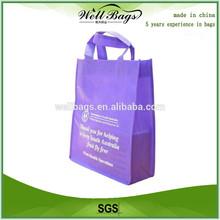 Non-woven tote reusable shopping bag,Non-woven tote bag, promotional tote bags