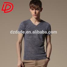 wholesale cotton/spandex man's t-shirt, printed t-shirt, cotton man's t-shirt