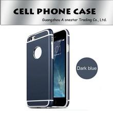 aluminium metal case hard case for apple iphone 6 , For Apple iPhone 6 Aluminum Metal PC Dual Layer Phone Case