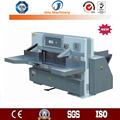 Informatizado jt-qzk780dw-8 hidráulico del engranaje de gusano de conducción industriales de papel guillotina de corte de la máquina