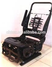 Automotive single seat frame for MPV motor homes