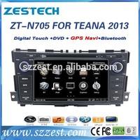 ZESTECH NEW 8'' double din Car dvd gps navigation for Nissan TEANA Car dvd gps 2 din Factory OEM 2013