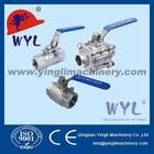 1000/2000WOG High Pressure 1PC/2PC/3PC Ball Valve