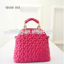 fashionable imitation leather bag ladies tote bag