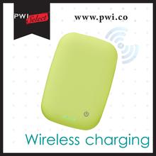 PWIselect stylish 4000mAh Qi wireless power bank charger