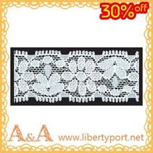 elastic tricot trim lace