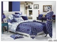 Luxury wedding bed sets and comforter 100% cotton duvet cover cheap bed set 3d plain printed hotel design bedding set
