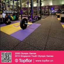 Home Gym Rubber Flooring Mats for Sale