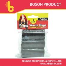 3 pcs doggy wholesale dog waste bag