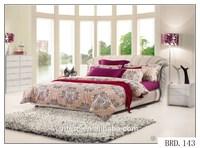 3d plain printed european bedding set king size bedding duvet set luxury wedding bright color bed sheet sets