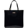 Diamond brand guangzhou patent leather handbag black