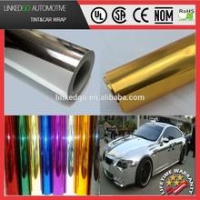 best price 1.52*20m vinyl chrome/chrome vinyl car wrap/auto wrap vinyl film with air bubble channel