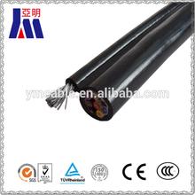 Copper conductor 2core flat TPS PVC Power Cable/ 450/750KV