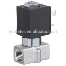 Stainless steel made mini solenoid valve 3 way fuel