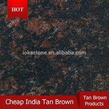 India cheap brown granite Tan Brown