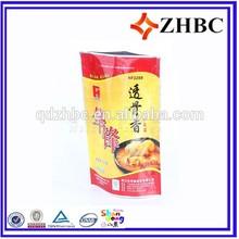 zipper pouch fried chicken bag