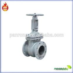 flange connection stem gate valve