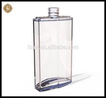 Tall square 3.40z bouteille en verre avec pompe spray