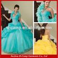 Clássico qu-014 decote sem alças querida bola vestido de baile vestido quinceanera 2012