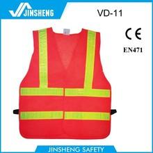 high-visibility police vest work vest security roadway safety vest