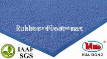 Blue anti-slip ceramony basketball & tennis floor carpet