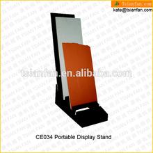 CE034---Tile flooring MDF display shelves