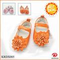 ZAPATOS KRD 2015 Nuevos diseños de zapatos de bebé cómodos para caminar con estampado de leopardo