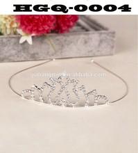 rhinestone Bridal Tiara with Hair Comb Wedding Hair Crown