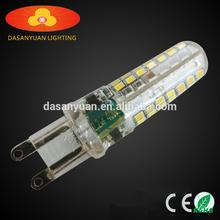 flicker free long life 7W 3000k led g9 bulb light