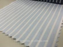 Corydalis Blue & White Stripe Cotton Twill Fabric