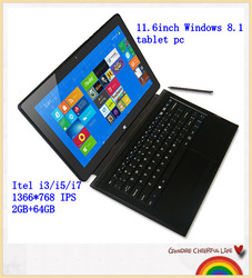 2015 big discount high quality low price new 11inch window s 8.1 tablet pc laptop with detachable keyboard