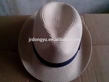 custom mens paper beach straw hat