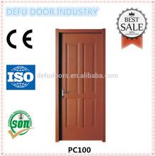 China alibaba Cheap PVC interior cheap bedroom apartment wooden door design